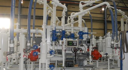 GABUS blending unit for San Jose Guatemala